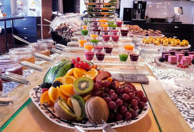 Arctic Light Hotellin kehuttu aamiainen