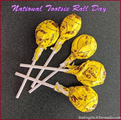 National Tootsie Roll Day | Picture taken by and property of www.BakingInATornado.com | #humor #funny