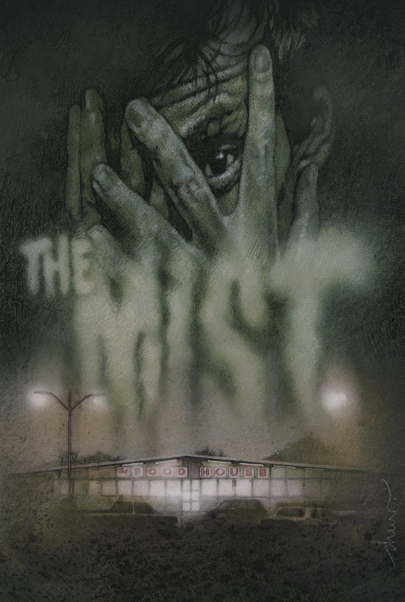 ThisBookGeek: Latest Haul from Book Sale: The Mist (Movie ...