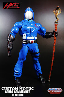 custom motuc cobra commander 6 inch action figure by HKC
