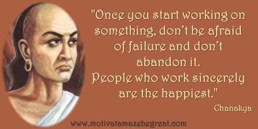 Image: 32 Chanakya Inspirational Quotes To Live By - Motivate Amaze Be GREAT