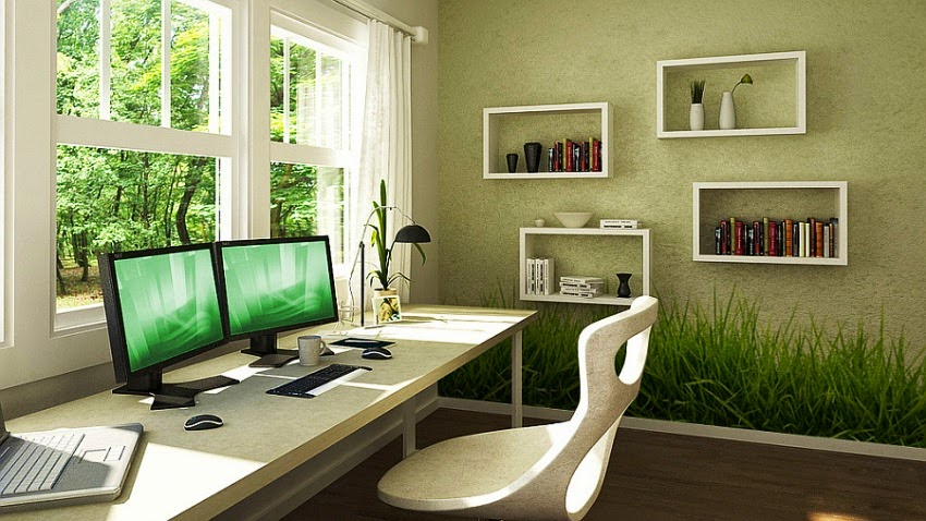 wall painting ideas for office. Black Bedroom Furniture Sets. Home Design Ideas