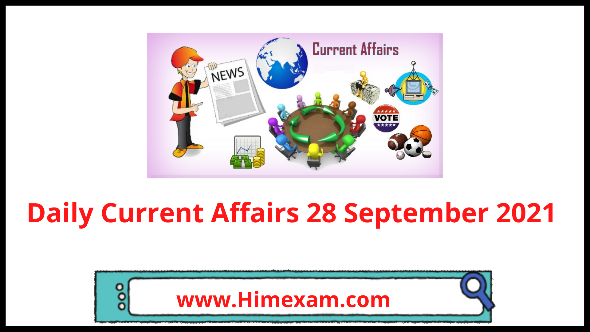Daily Current Affairs 28 September 2021