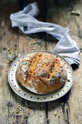 Le pain au potiron à la cocotte