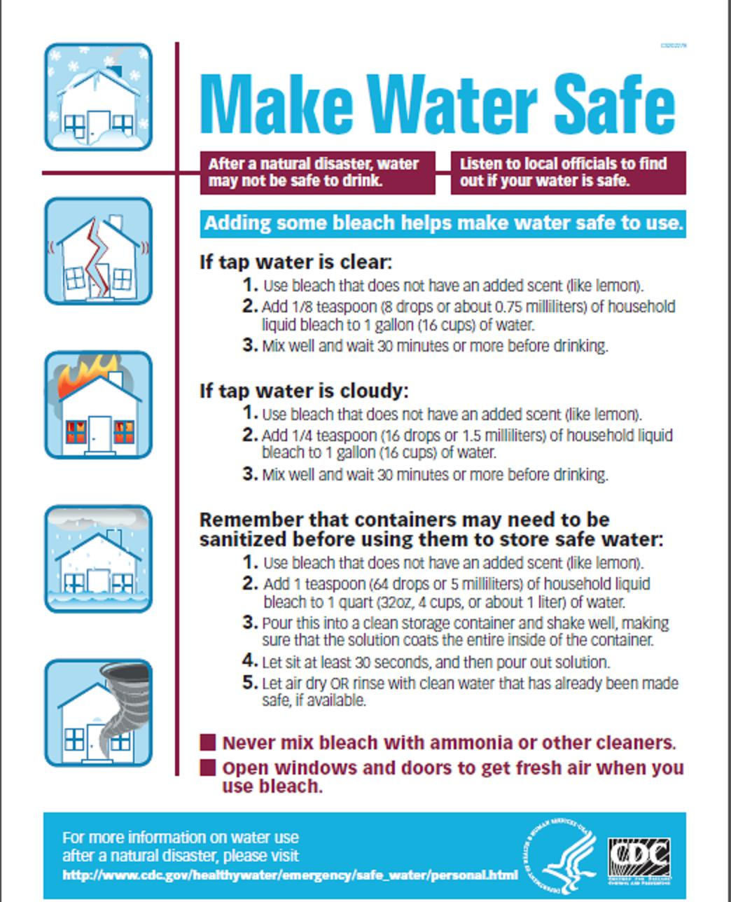 Nothing To Lose: Make Safe Water After Sandy