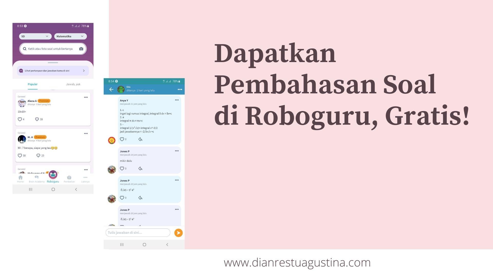 Solusi Belajar di Roboguru