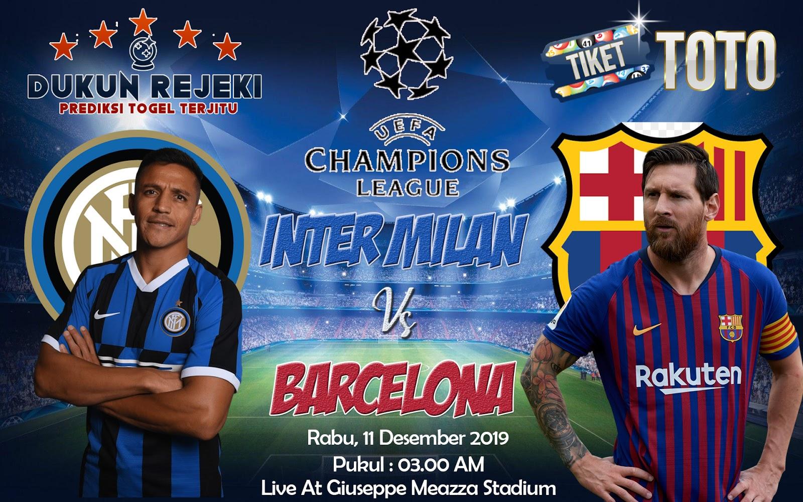 Prediksi Inter Milan vs Barcelona 11 Desember 2019 Champions League