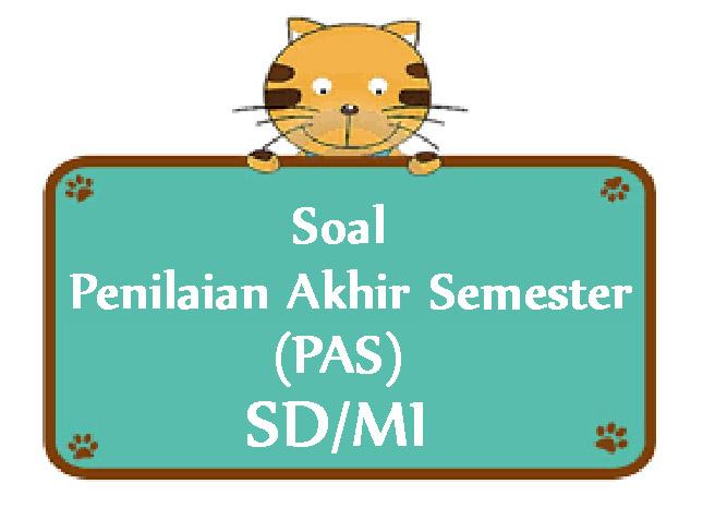 Soal Siap PAS SD Kelas 6