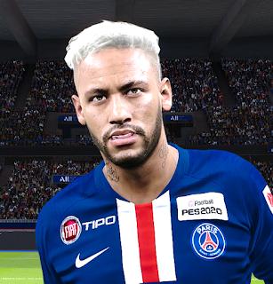 PES 2020 Faces Neymar Jr by Milwalt