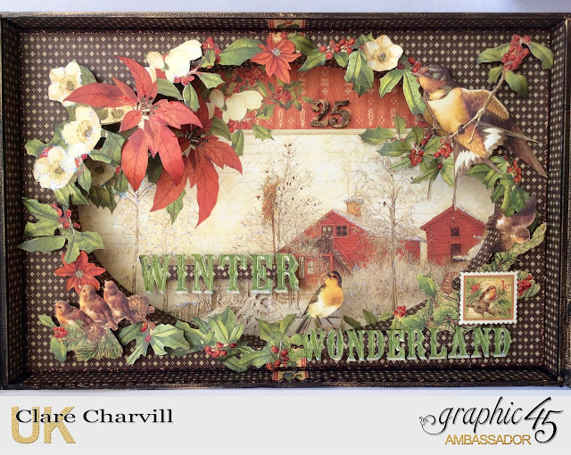 Winter Wonderland Advent Calendar Clare Charvill Graphic 45
