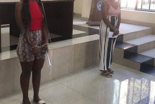 Police in Rwanda have in detention four young women who are accused of posting their naked pictures on social media.