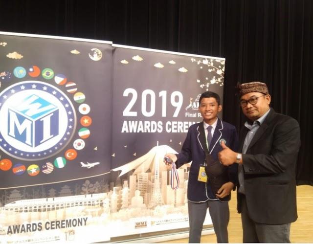 Siswa MAN 2 Kota Makassar Dapat Bronze Medal WMI Jepang