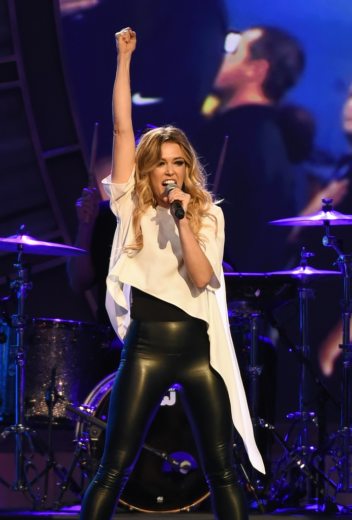 Lovely Ladies In Leather Rachel Platten In Leather Pants