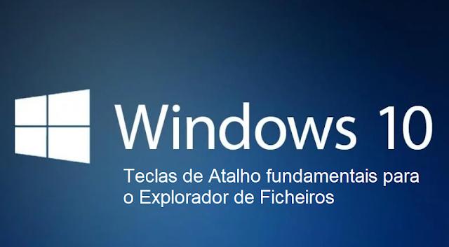 Tutorial: Teclas de atalho fundamentais para o Explorador de ficheiros do Windows