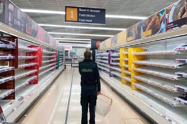 Viral Video Seorang Perawat Menangis, Kelaparan setelah Bekerja 48 Jam tapi Tak Temukan Makanan Gara-gara Panic Buying