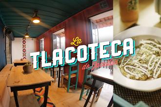 """¿Amante de los tlacoyos? tienes que conocer """"La Tlacoteca"""""""