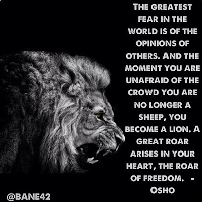 Lion Sayings
