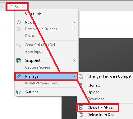 VMware Workstation: Reducir tamaño disco