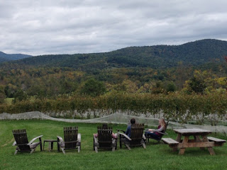 Spring winery picnic
