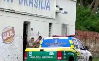 homem é preso comercializando drogas no centro de Campo Maior