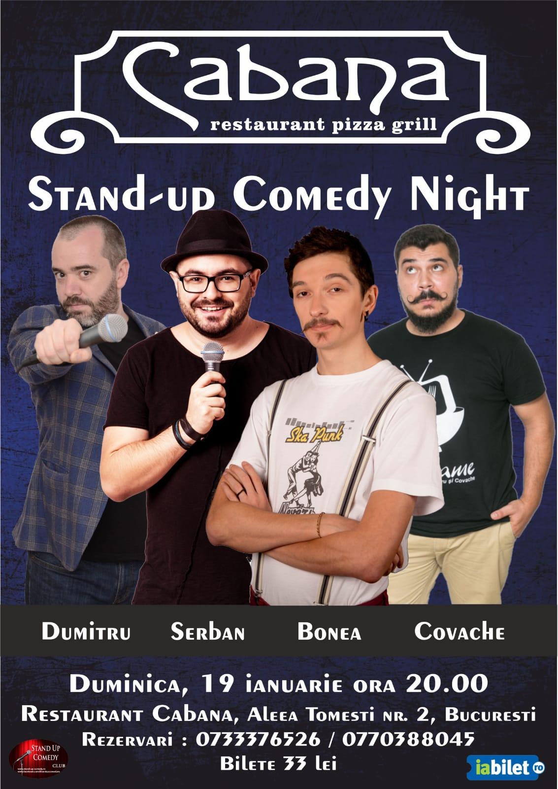 Stand-Up Comedy Dumitru Bucuresti