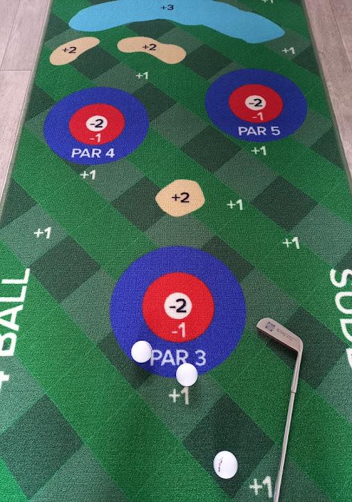 Putt18 Golf Putting Game System