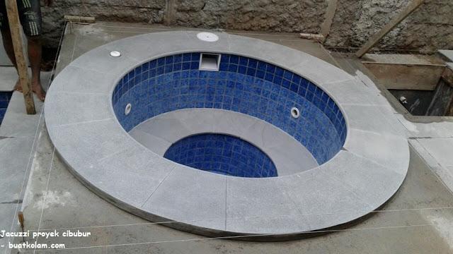 Desain kolam renang jacuzzi cibubur