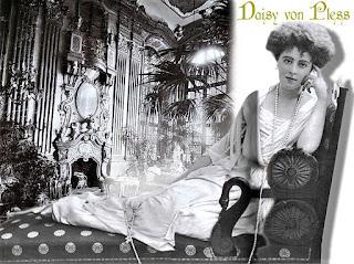 Daisy von Pless ze słynnym sznurem pereł