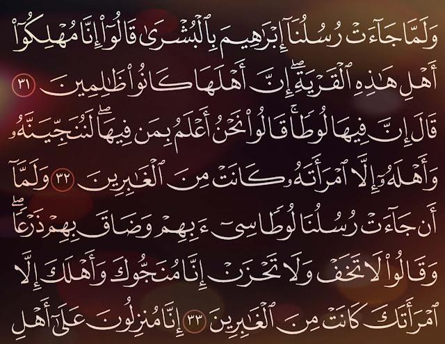 شرح وتفسير سورة العنكبوت Surah Al Ankabut