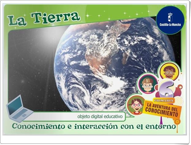 """""""La Tierra"""" (Ciencias Sociales de 5º y 6º de Primaria)"""