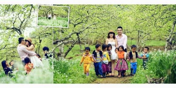 Địa điểm chụp ảnh cưới đẹp nhất Hòa Bình