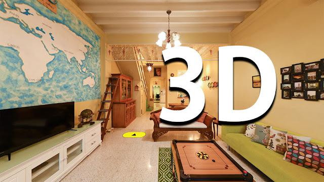 Merican Road George Town Heritage House 3D Virtual Tour Raymond Loo 019-4107321
