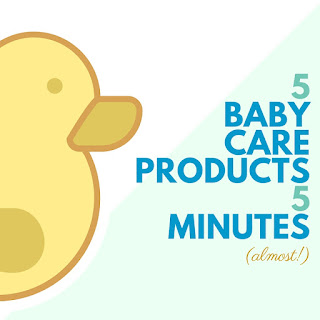 5 baby care products you can make in almost 5 minutes