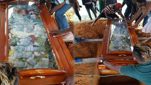 Takut Dijeblokskan ke Neraka, Koruptor Ini Ingin Suap Tuhan Dengan Bawa Mati Duit Rp 76 Juta ke Kuburan