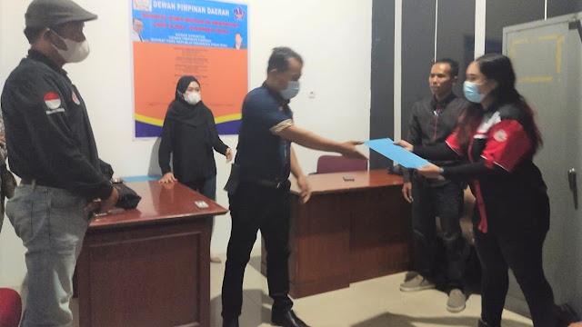 Usai menyerahkan Mandat, Feri minta Pimpinan Cabang SPRI Riau untuk mengamalkan AD/ART