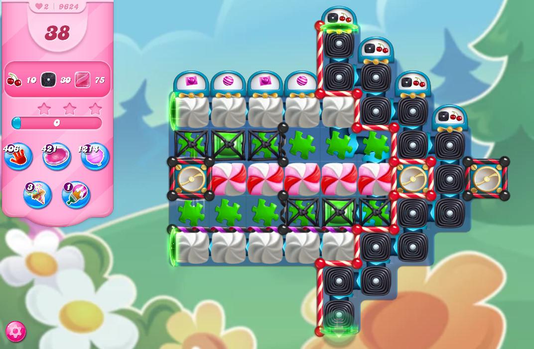Candy Crush Saga level 9624