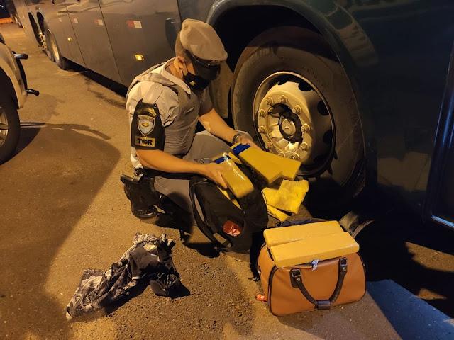 Polícia Rodoviária intercepta carregamento de drogas que seria entregue em Presidente Prudente