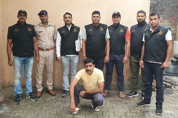 faridabad-crime-branch-sector-17-arrested-amit-urf-apla