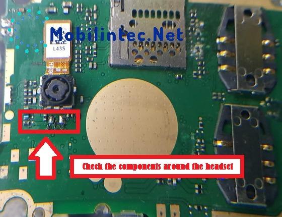 Repair Damage Nokia 108 (RM 944) Headset Mode