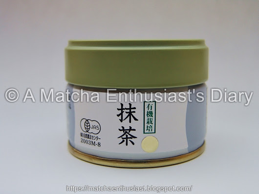 Matcha Review: Organically cultivated Matcha Gold by Marukyu Koyama-en - A Matcha Enthusiast's Diary