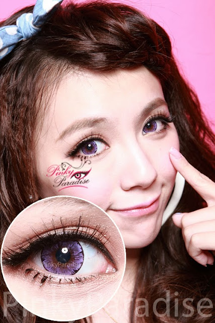 EOS Ice Violet Circle Lenses (Colored Contacts)