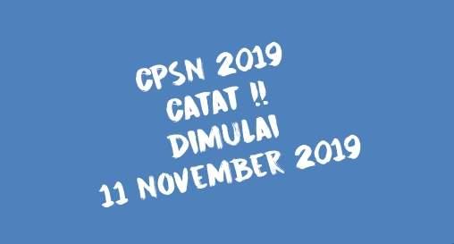 Penerimaan CPNS 2019