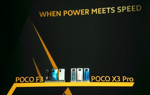"POCO เปิดตัวสมาร์ทโฟนแฟลกชิปสองรุ่นใหม่ล่าสุด ""POCO F3 ที่สุดแห่งพลังความร้ายกาจ"" และ ""POCO X3 Pro สเปคแรงโดนใจกว่าเดิม มากกว่าที่คุณต้องการ"""