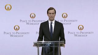 """كوشنر :هذه """"فرصة القرن"""" وليست """"صفقة القرن""""والاتفاق على مسار اقتصادي شرط ضروري للسلام."""