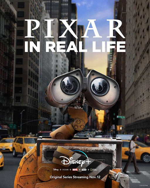 Pixar in Real Life Poster with Wall-E