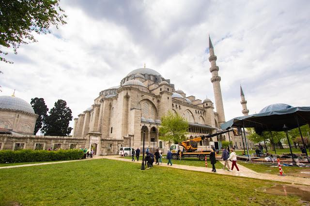 Beyazit Camii (Moschea del Sultano Beyazit II)-Istanbul