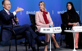 Ivanka Trump touts launch of World Bank businesswomen's fund