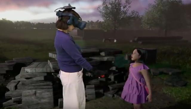 الواقع الإفتراضي | الواقع الإفتراضي يجعل أم تلتقي بإبنتها المتوفية من جديد مند عام 2016