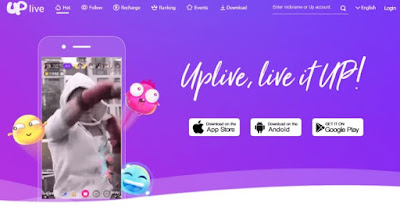 Uplive – Live Video Streaming App Mod Apk for Android