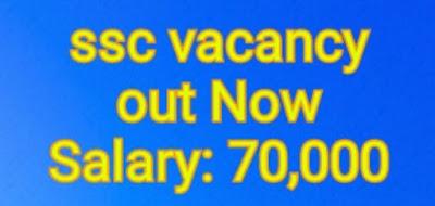 ssc recruitment 2020 notification